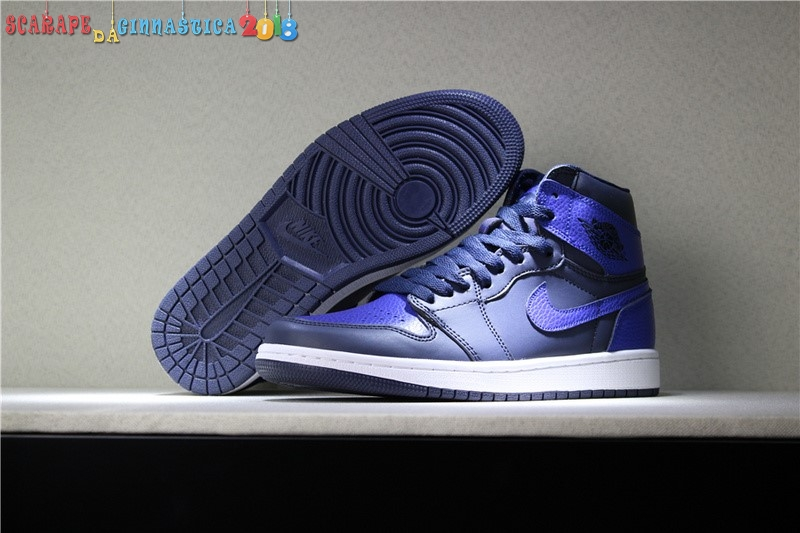 Acquisto Air Jordan 1 Retro 6 Rings Blu - Uomo Replica