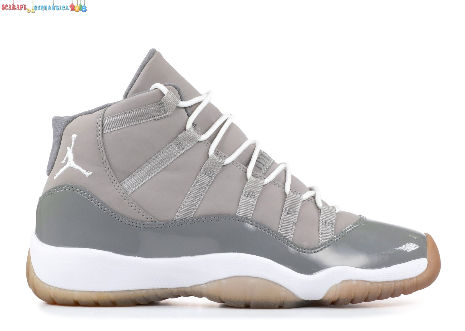 "Acquisto Air Jordan 11 Retro (Gs) ""Cool Gris 2010"" Gris (378038-001) Scarpe sportive"