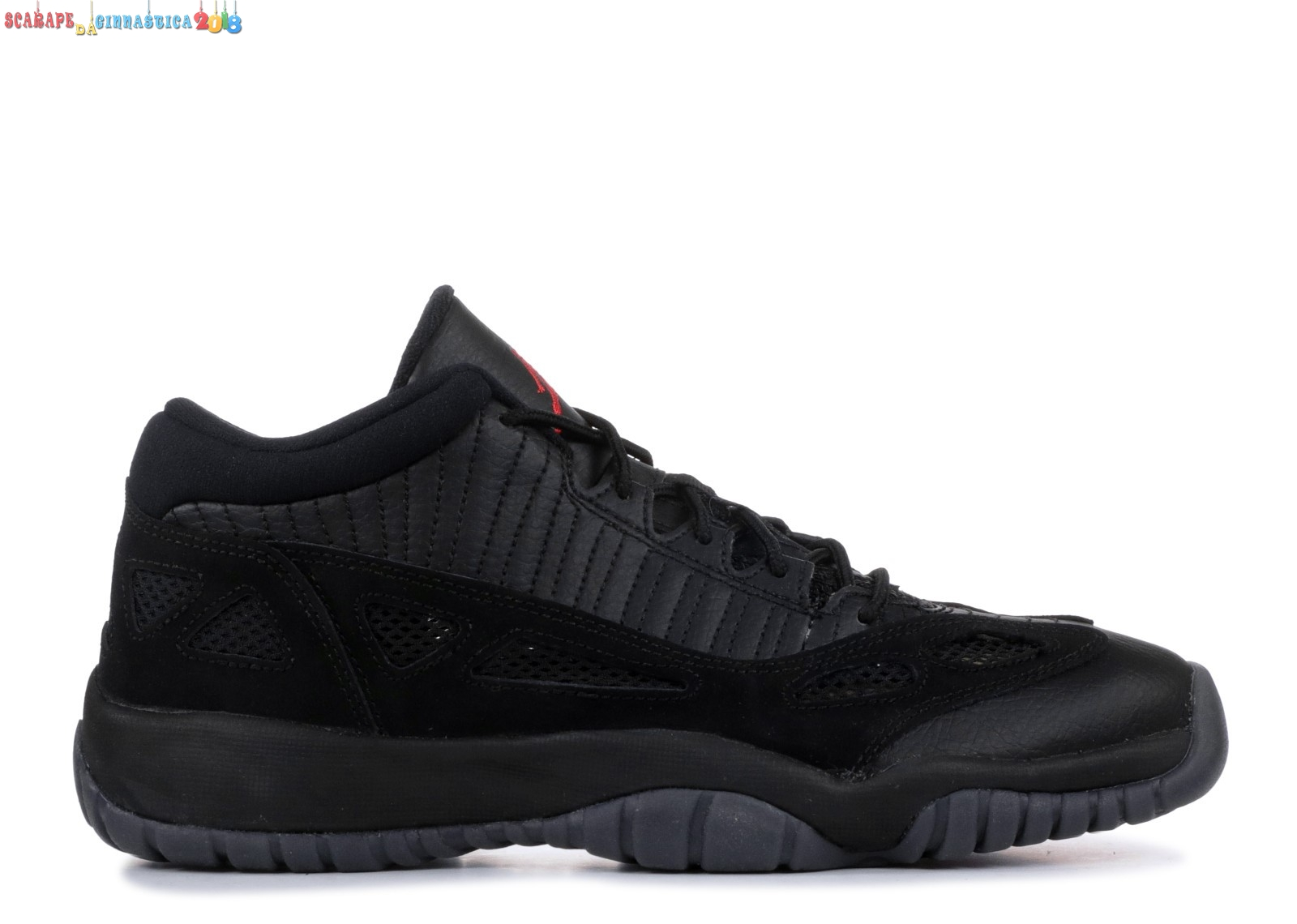 "Acquisto Air Jordan 11 Retro Low (Gs) ""Referee"" Nero (768873-003) a Poco Prezzo"