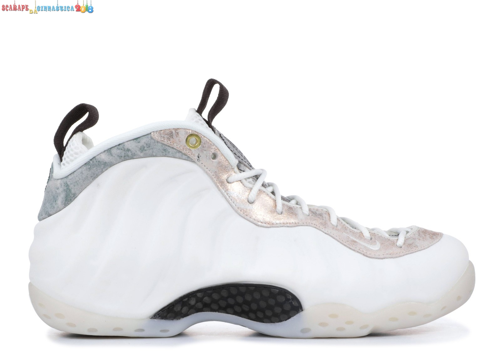 Acquisto Nike Air Foamposite One Bianca (aa3963-101) - Donna Online