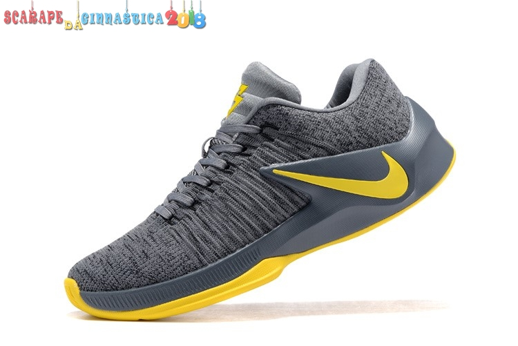 Acquisto Nike Zoom Clear Out Low Gris Giallo - Uomo Replica