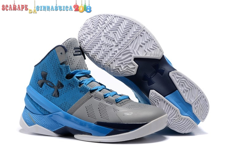 "Acquisto Under Armour Curry 2 ""Electric Blue"" Blu Gris - Uomo Online"
