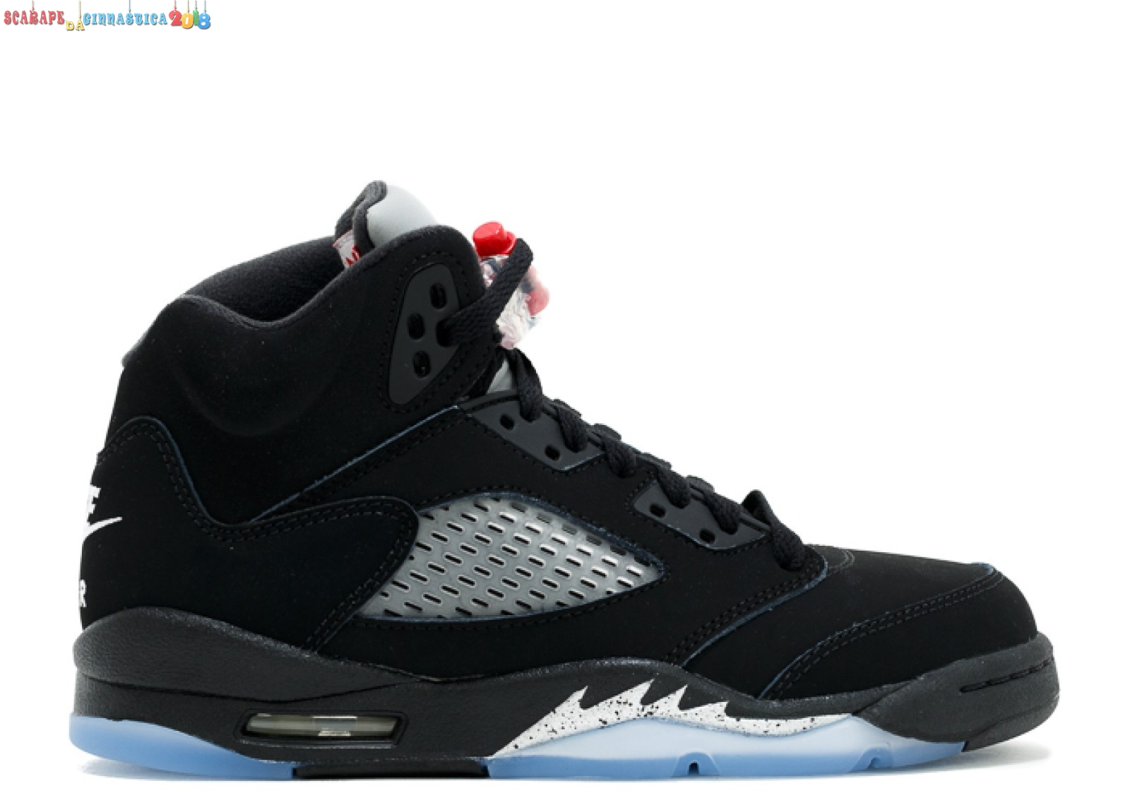 "Air Jordan 5 Retro Og (Gs) ""2016 Release"" Nero (845036-003) Replica"