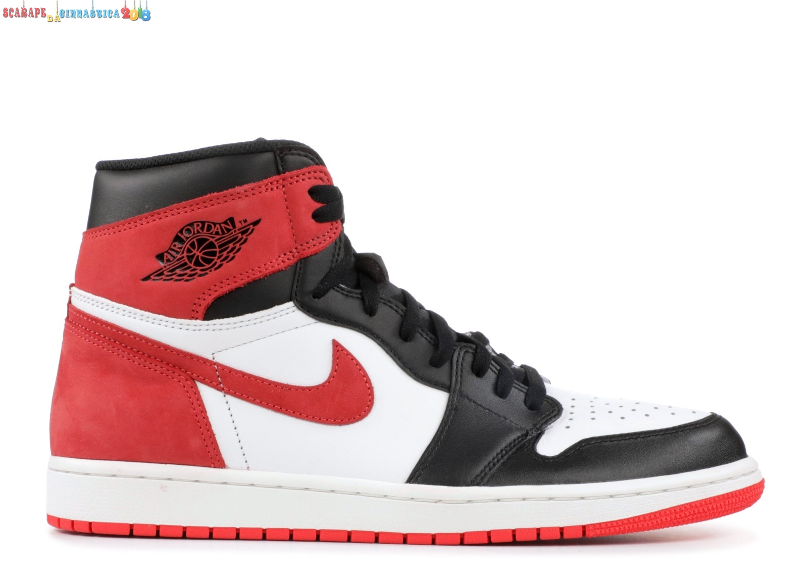 "Buy Air Jordan 1 Retro High Og ""6 Rings"" Rosso (555088-112) - Uomo - Scarpe da basket"