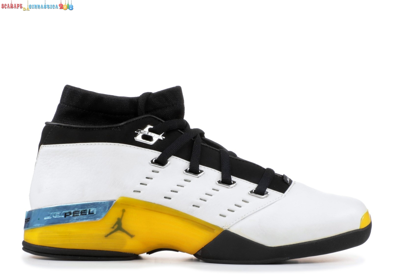 Buy Air Jordan 17 Low Nero Giallo Blu (303891-101) - Uomo - Scarpe da basket