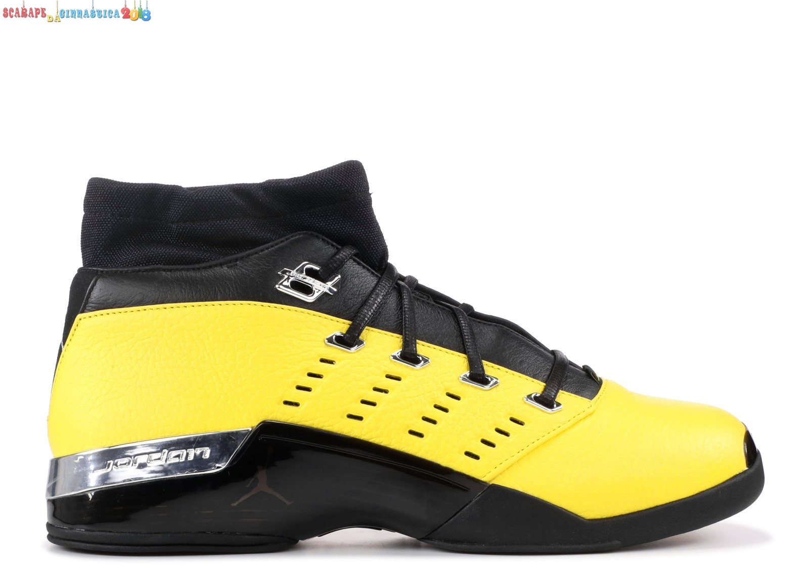 "Buy Air Jordan 17 Ret Low ""Solefly Solefly"" Giallo Nero (aj7321-003) - Uomo - Scarpe da basket"