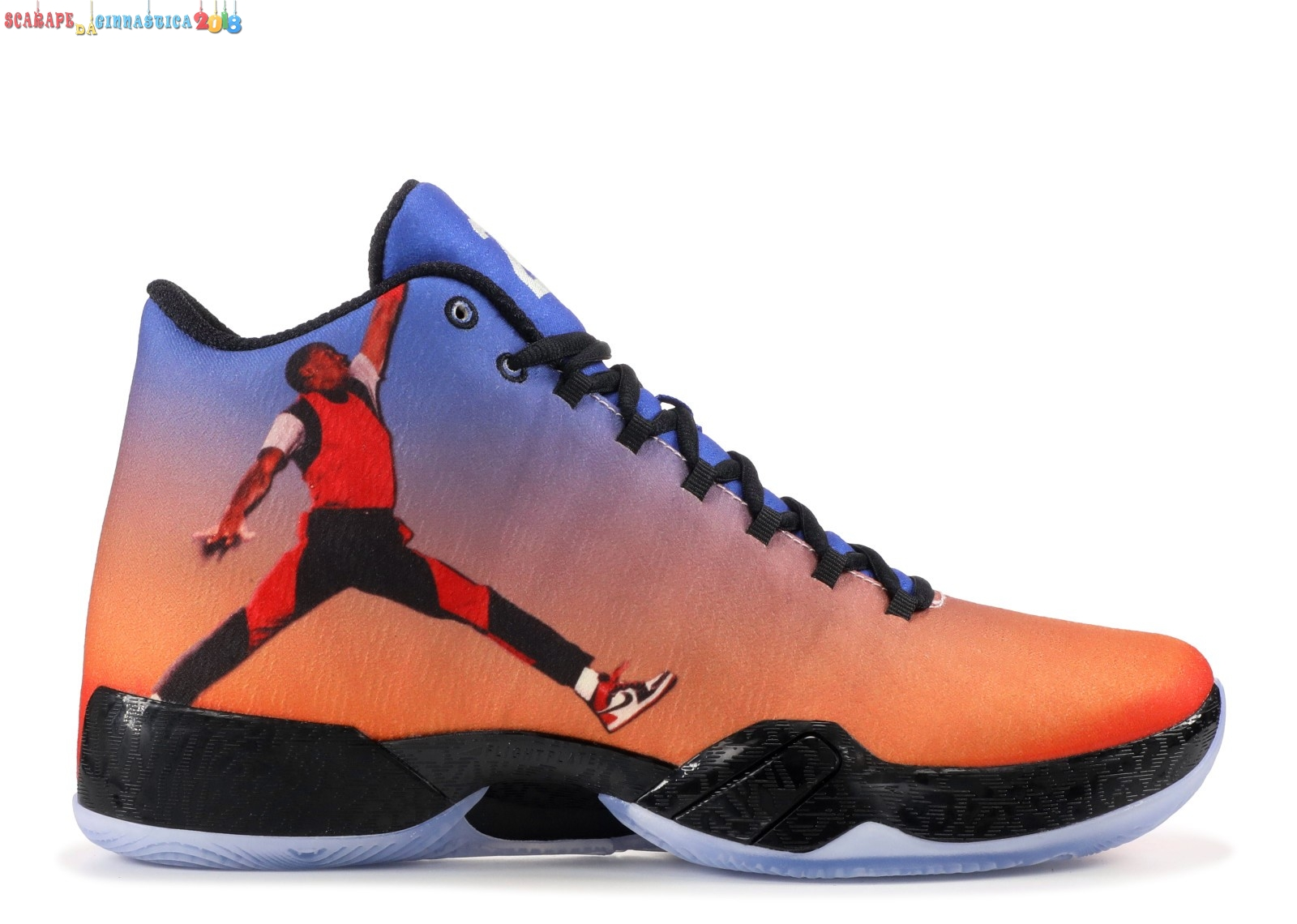 "Buy Air Jordan 29 ""Photo Reel"" Arancia (695515-806) - Uomo Online"