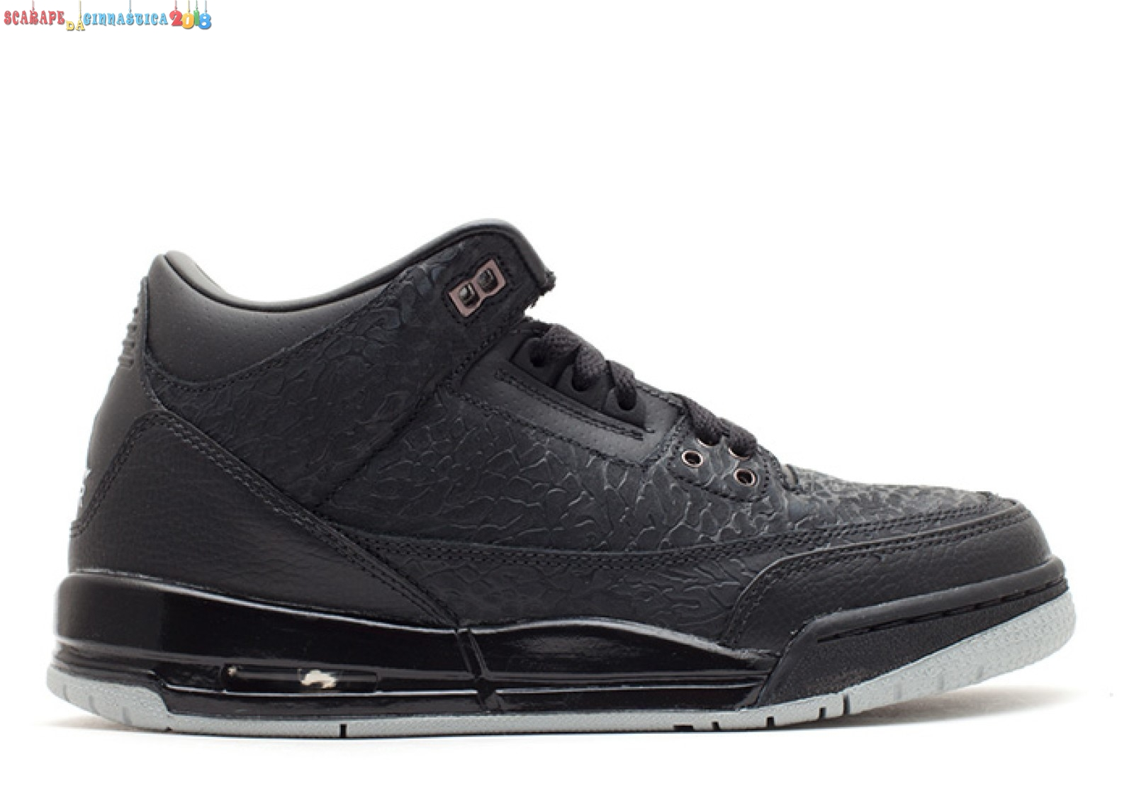 Buy Air Jordan 3 Retro Flip (Gs) Nero (315768-001) - SCARPE BASKET