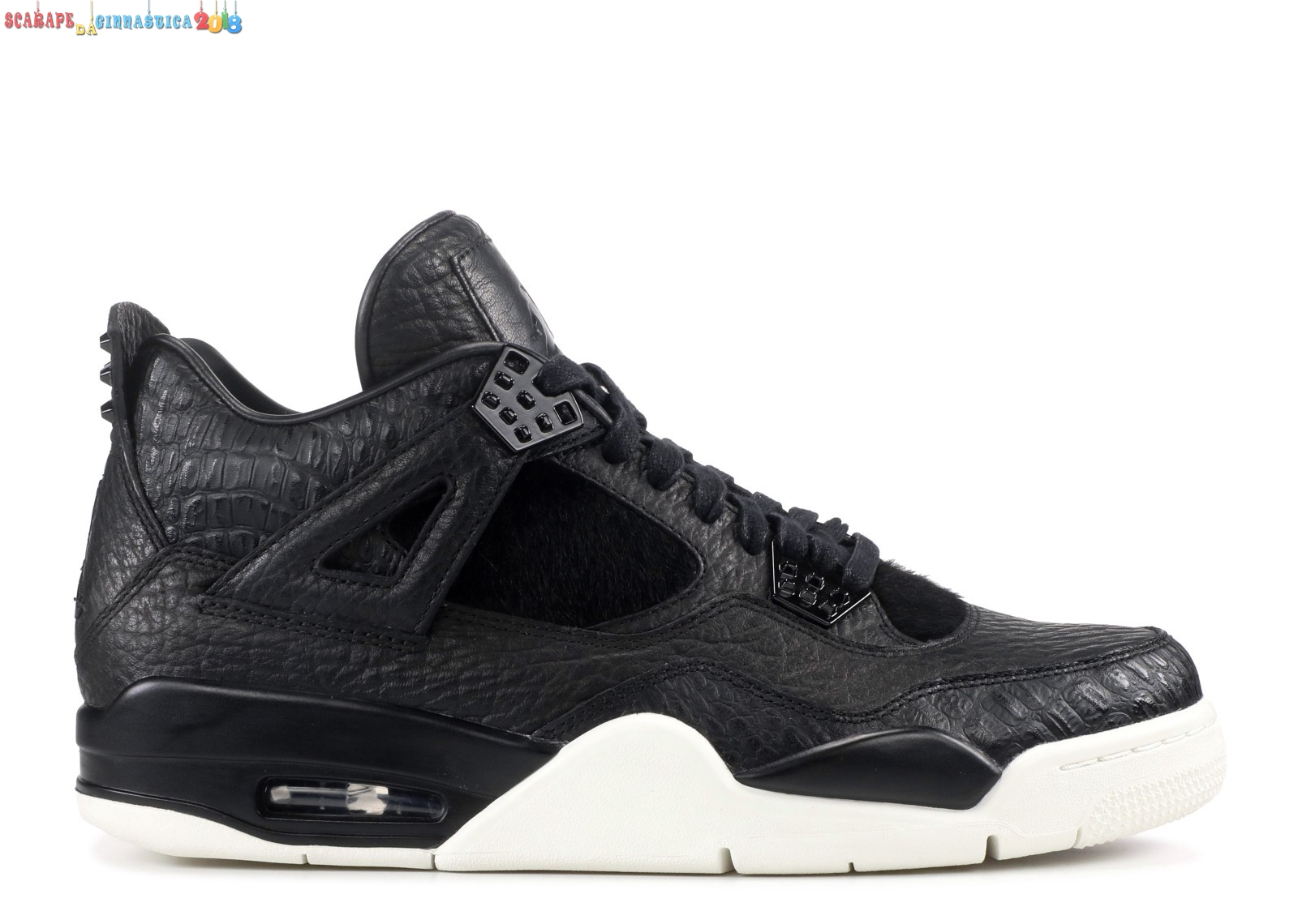 "Buy Air Jordan 4 Premium ""Pinnacle"" Nero (819139-010) - Uomo Online"