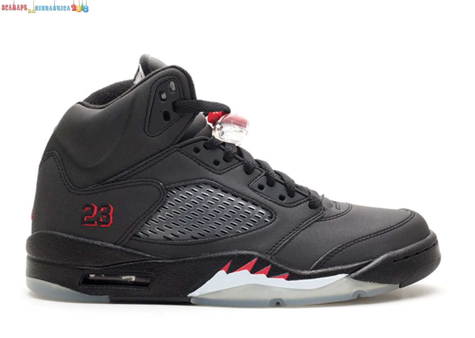 "Buy Air Jordan 5 Retro ""Raging Bull 3M"" Nero (136027-061) - Uomo - SCARPE BASKET"