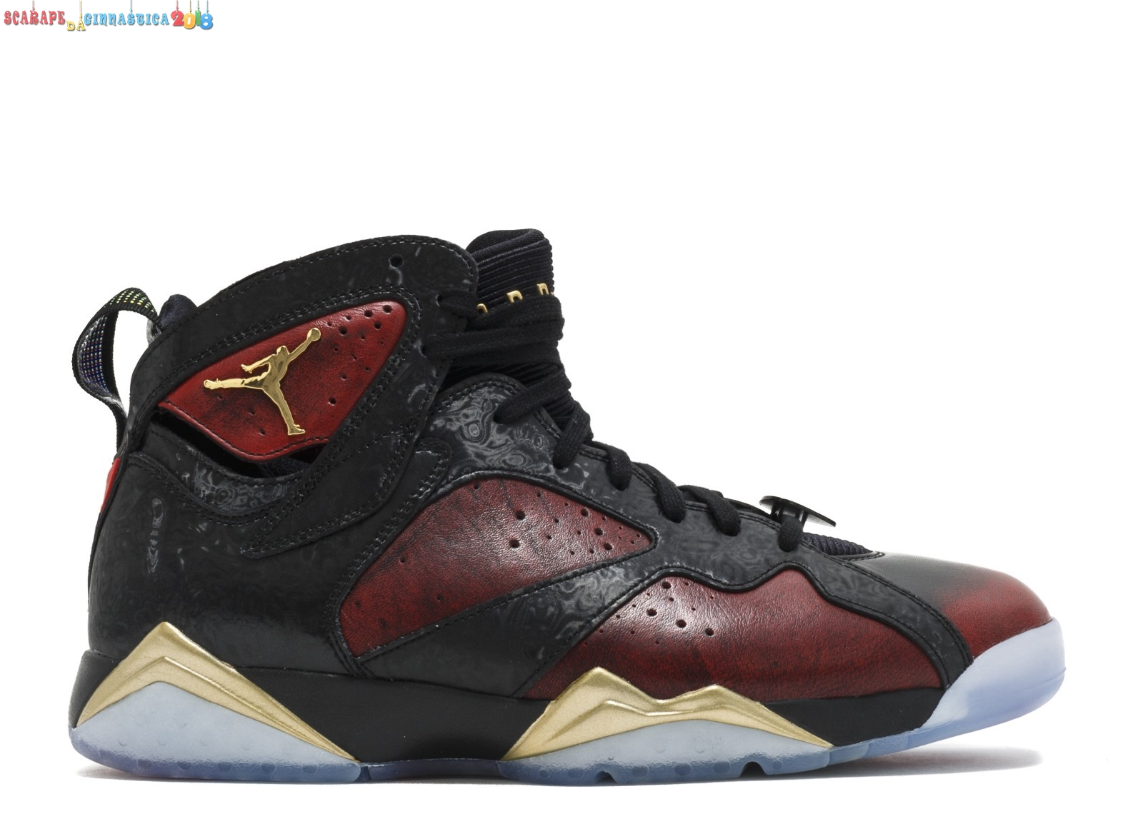 "Buy Air Jordan 7 Retro Db ""Doernbecher"" Nero Metallico Oro (898651-015) - Uomo Scarpe sportive"