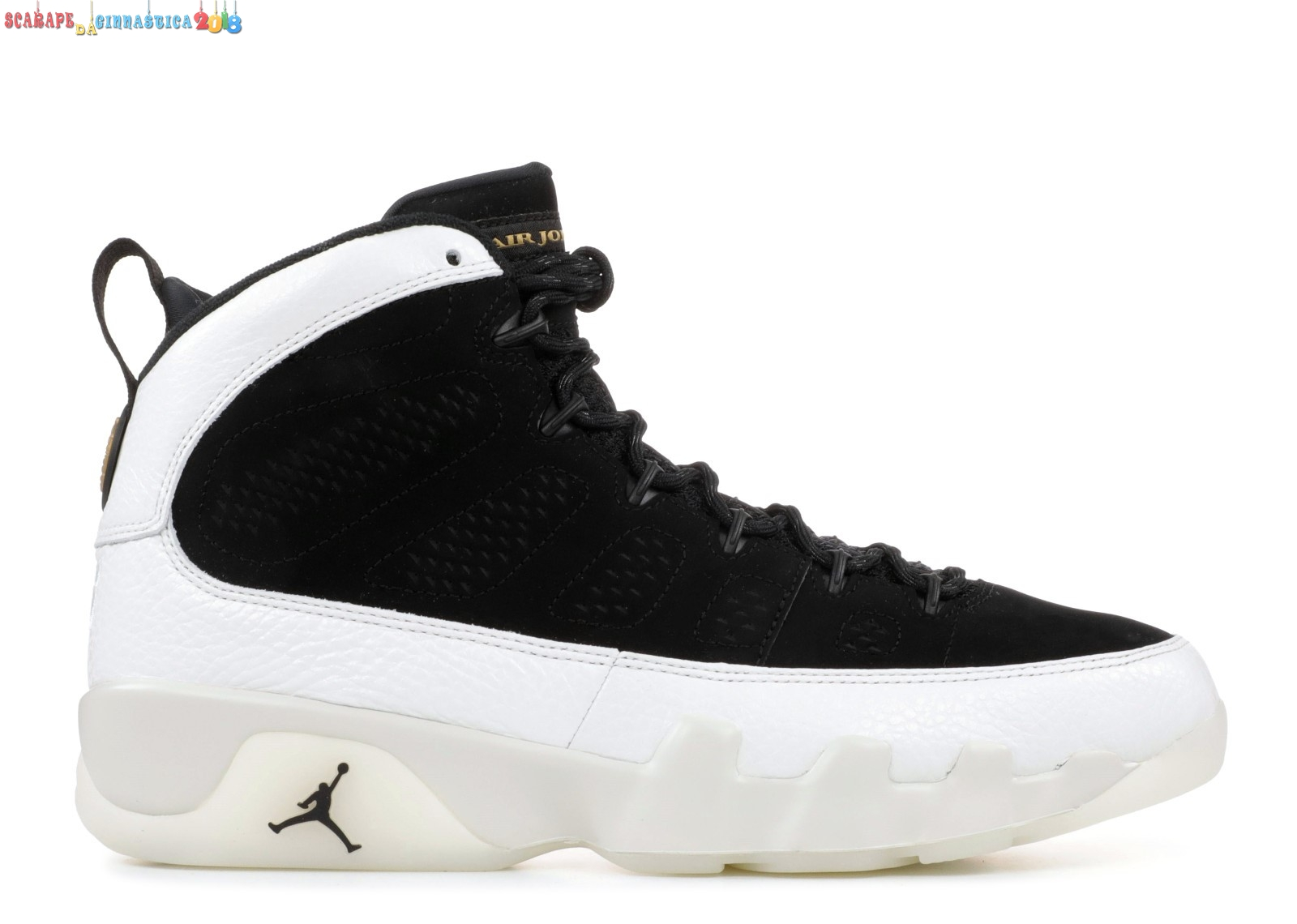 "Buy Air Jordan 9 Retro ""City Of Flight"" Nero Bianca (302370-021) - Uomo Scarpe sportive"