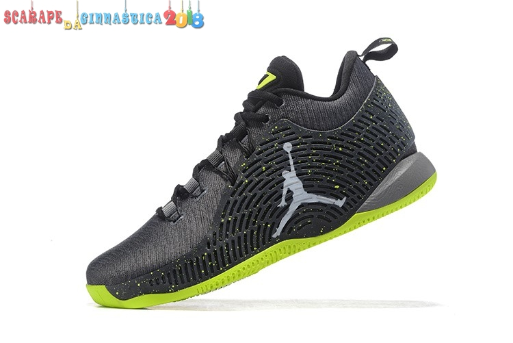 Buy Air Jordan Cp3.X Nero Verde - Uomo Replica