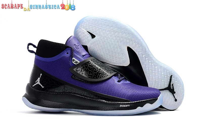 "Buy Air Jordan Super.Fly 5 Po ""Blake Griffin"" Porpora Nero - Uomo Replica"