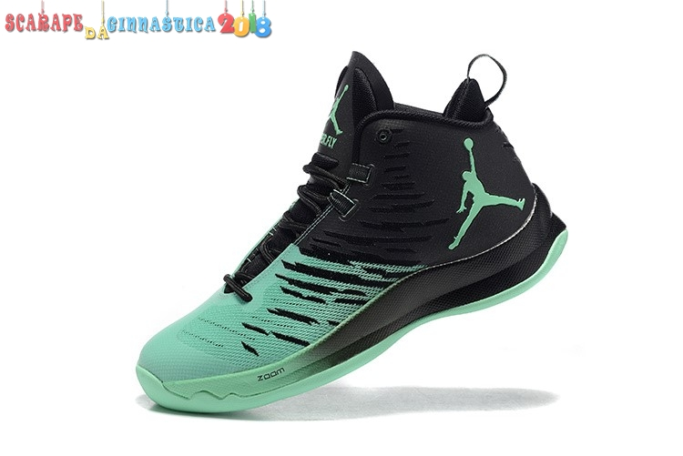 Buy Air Jordan Super.Fly 5 Verde Nero - Uomo Online