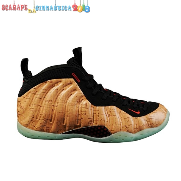 "Buy Nike Air Foamposite One ""Corkposite"" Marrone Nero - Uomo a Poco Prezzo"