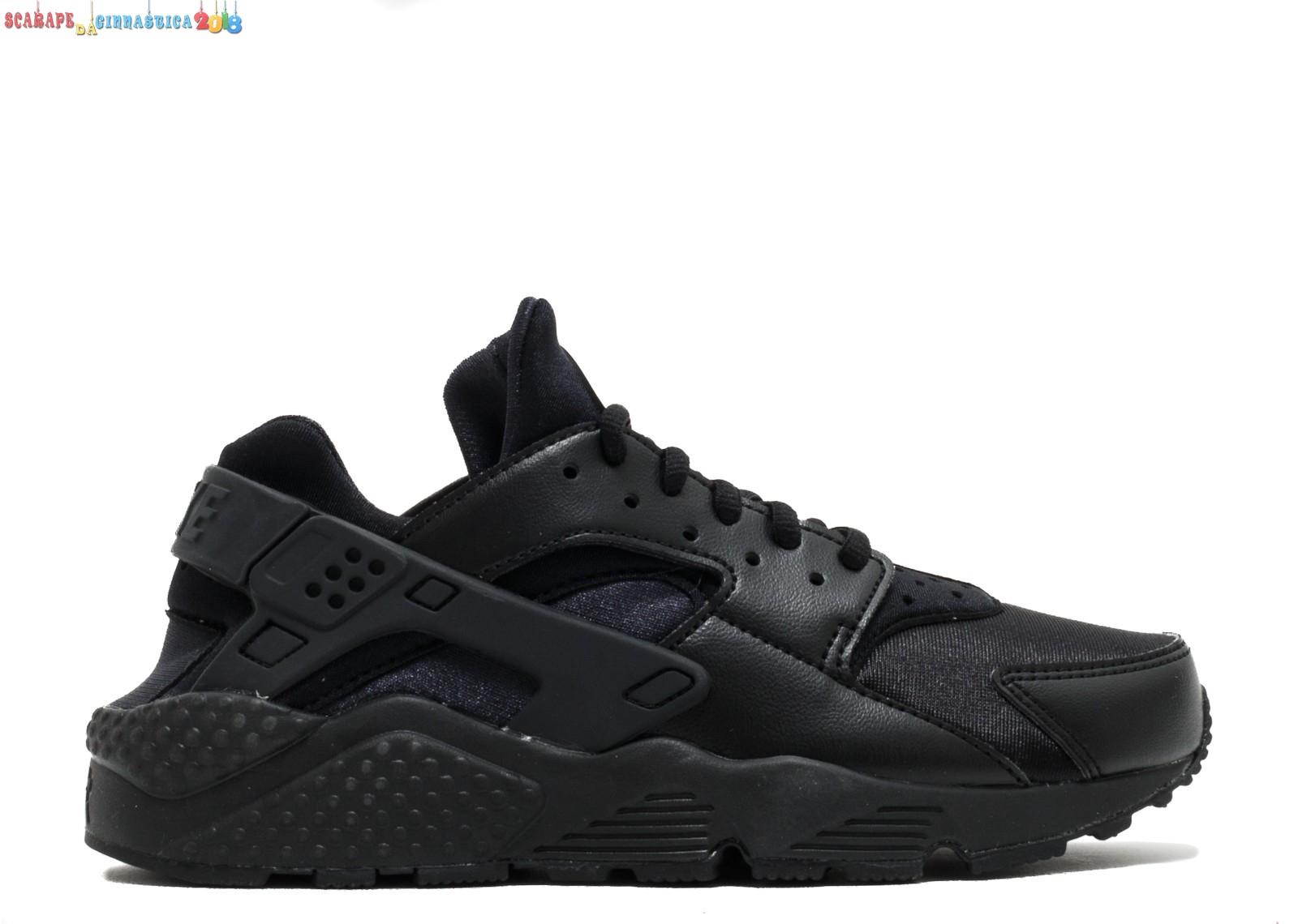 Buy Nike Air Huarache Run Tutti Nero (634835-012) - Donna Replica