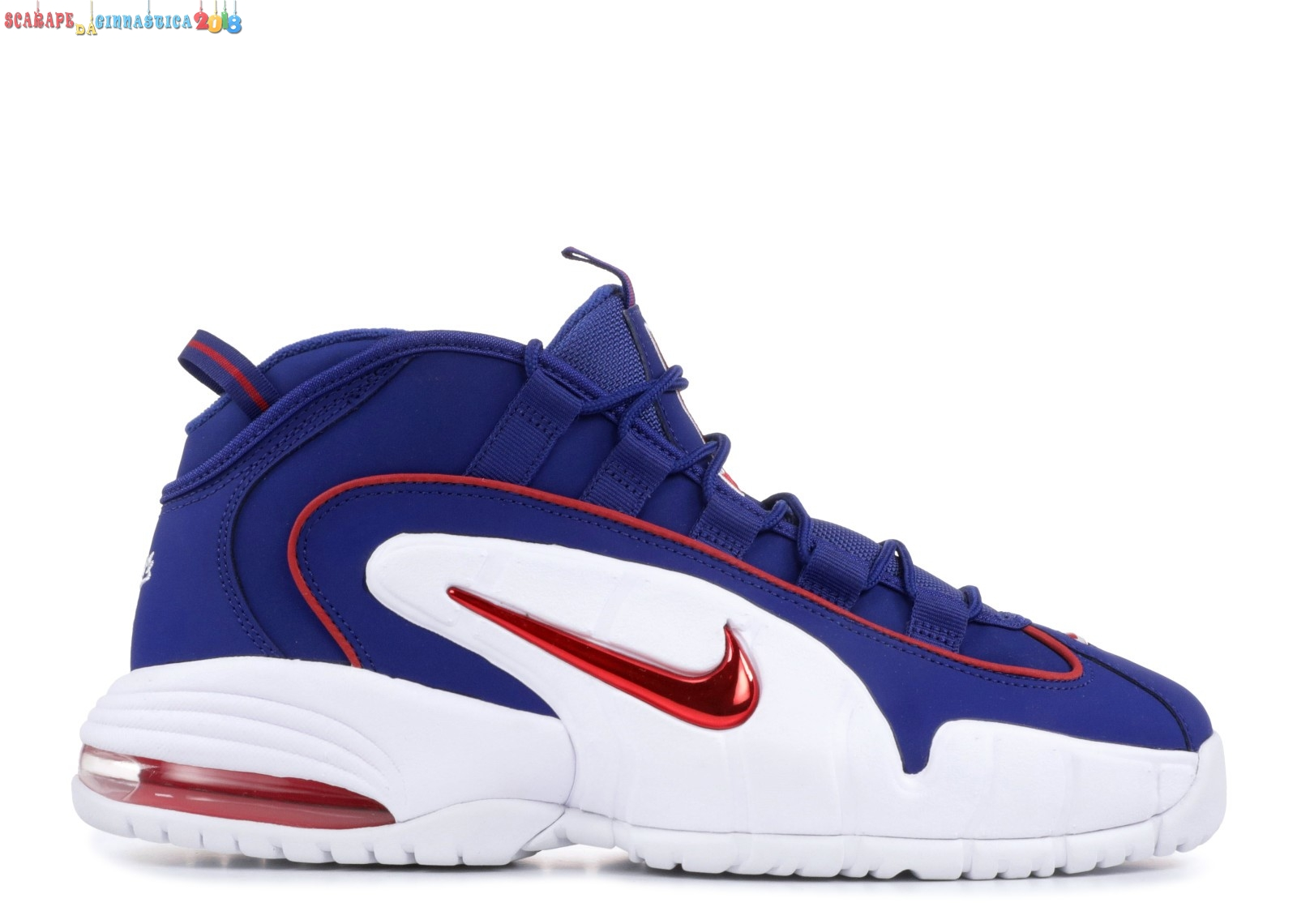 "Buy Nike Air Max Penny ""Lil Penny"" Blu Rosso Bianca (685153-400) - Uomo Replica"