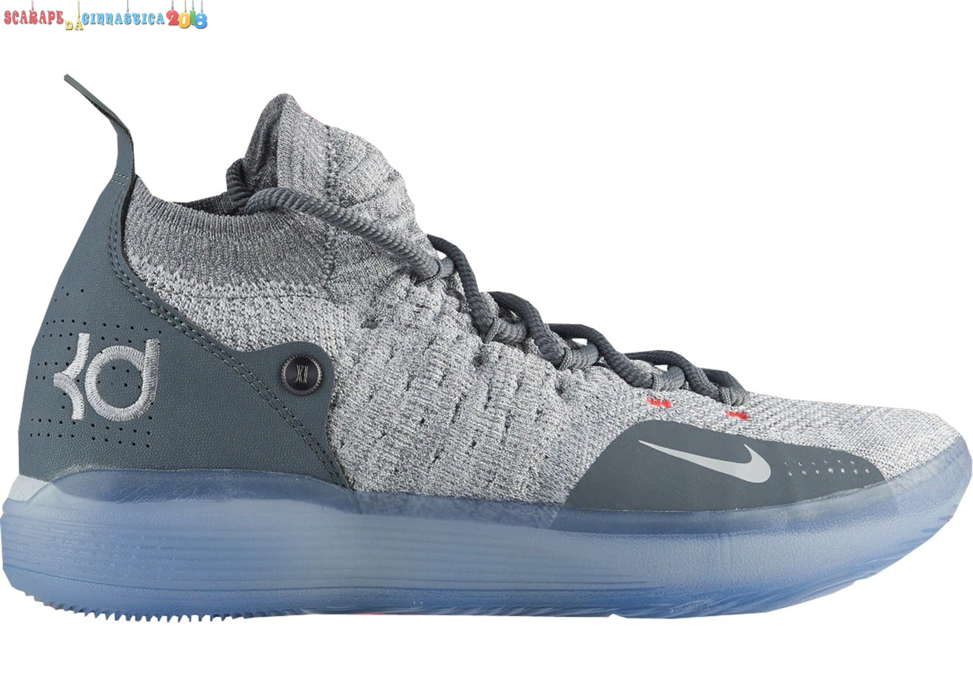 "Buy Nike Kd Xi 11 ""Cool Gris"" Gris - Uomo Replica"