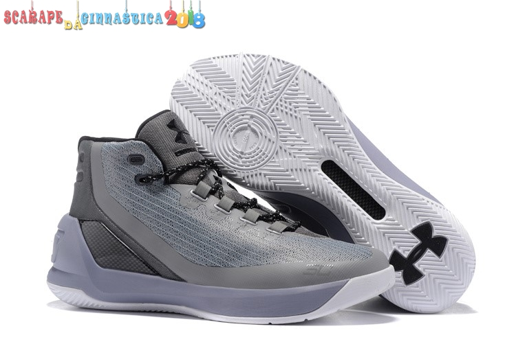 "Buy Under Armour Curry 3 ""Gris Matter"" Gris - Uomo - Scarpe da basket"