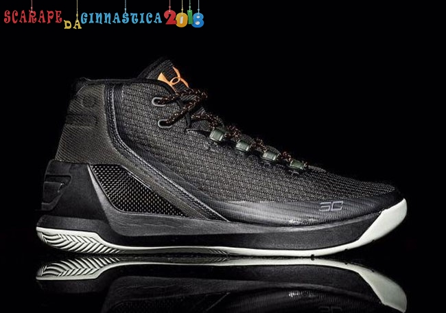 Buy Under Armour Curry 3 Nero Oro - Uomo a Poco Prezzo
