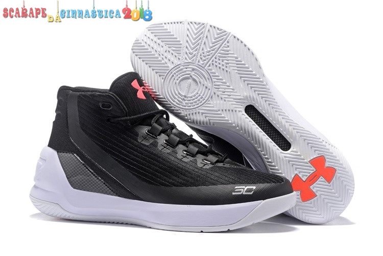 Buy Under Armour Curry 3 Nero Rosa Bianca - Uomo Online