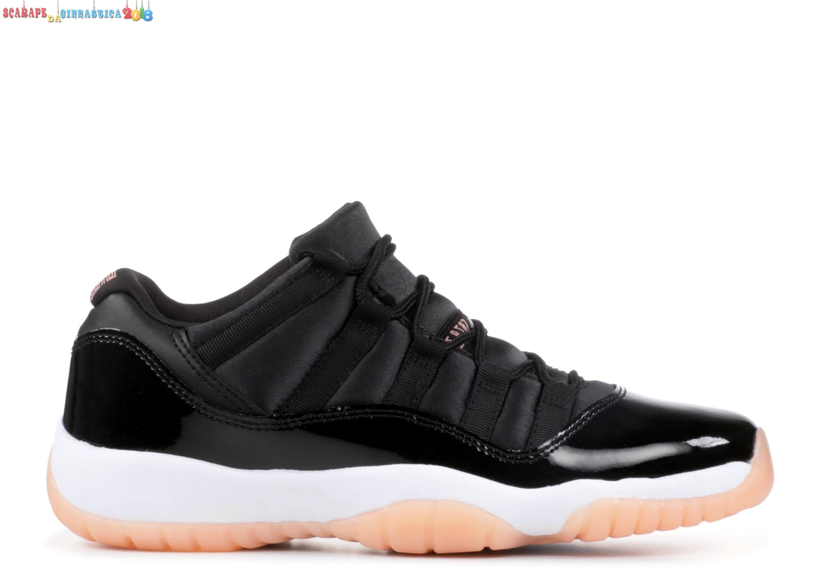 "Comprare Air Jordan 11 Retro Low GG ""Coral"" Nero Bianca (580521-013) Replica"