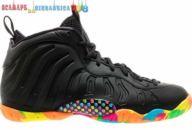 Comprare Nike Air Foamposite One Fruity Pebbles Nero Multicolore - Donna Scarpe sportive