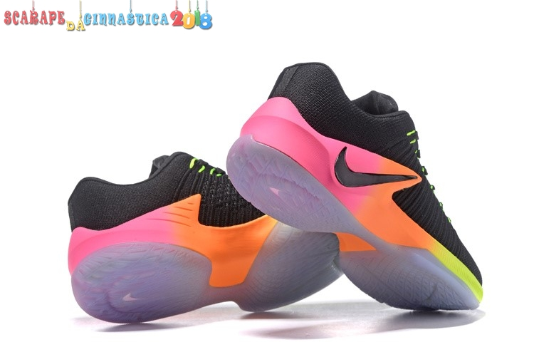 Comprare Nike Zoom Clear Out Low Nero Arancia Rosa - Uomo Online