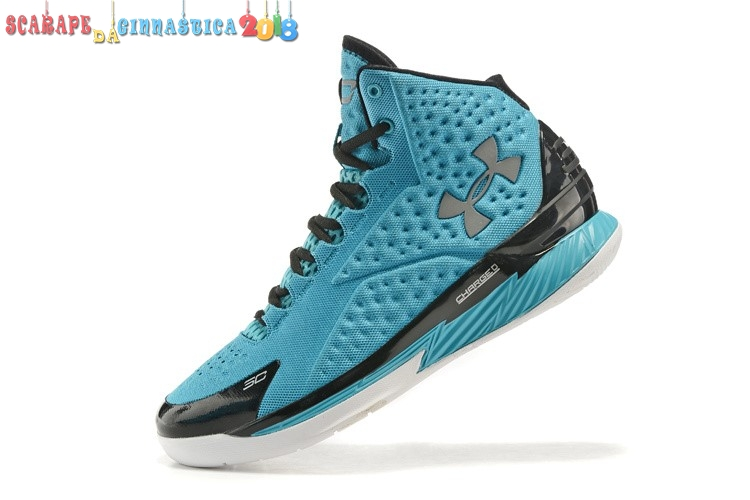 Comprare Under Armour Curry 1 Blu Nero - Uomo Replica