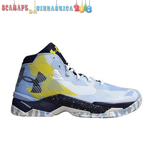 Comprare Under Armour Curry 2.5 Blu Giallo - Uomo Online