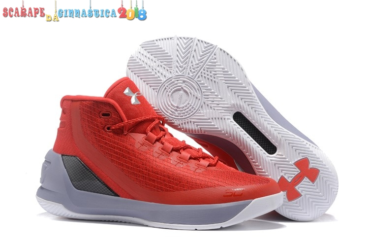 "Comprare Under Armour Curry 3 ""Red Hot Santa"" Arancia Nero - Uomo Scarpe sportive"