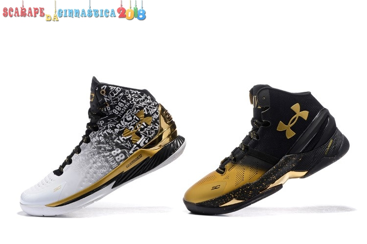 "Comprare Under Armour Curry ""Back To Back"" Pack Nero Bianca - Uomo Scarpe sportive"