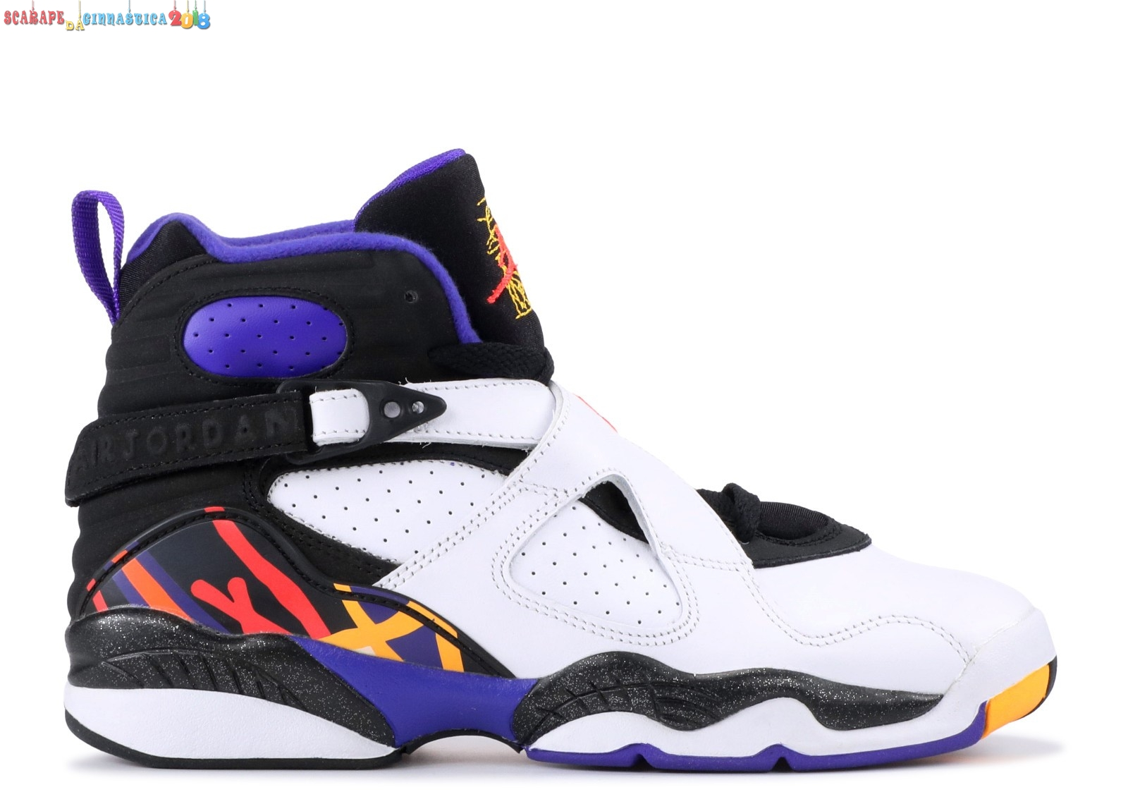"Popolare Air Jordan 8 Retro (Gs) ""Three Peat"" Bianca Blu (305368-142) Online"