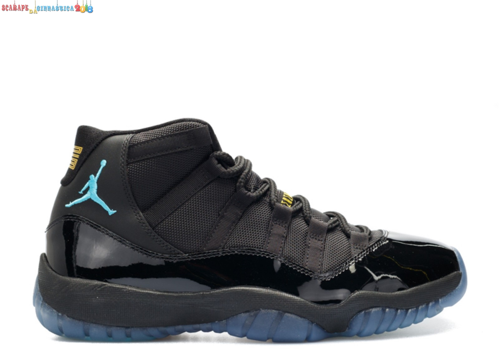 "Replica Air Jordan 11 Retro ""Gamma Blue"" Nero (378037-006) - Uomo - Scarpe da basket"