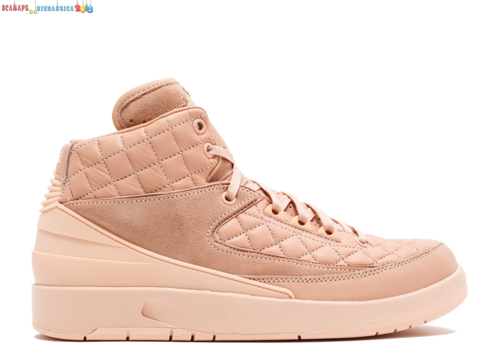 "Replica Air Jordan 2 Retro Just Don (Gs) ""Just Don"" Arancia (923840-805) a Poco Prezzo"