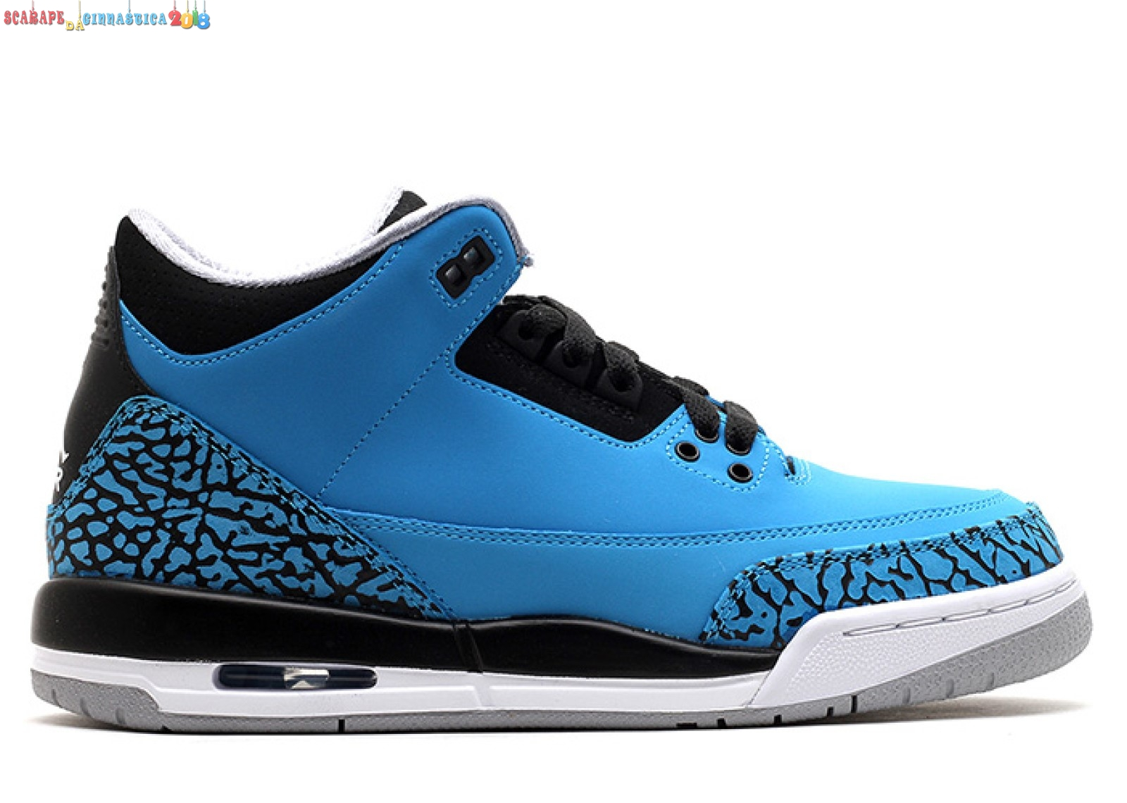 "Replica Air Jordan 3 Retro (Gs) ""Powder Blu"" Blu (398614-406) Online"