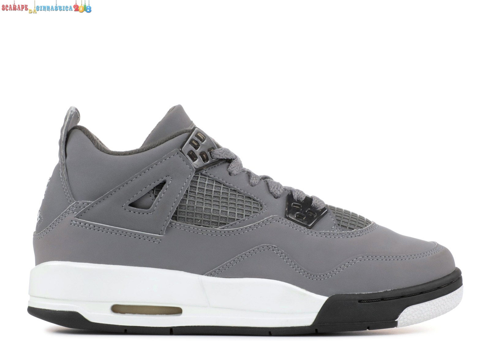 Replica Air Jordan 4 Retro (Gs) Gris (308498-001) - SCARPE BASKET
