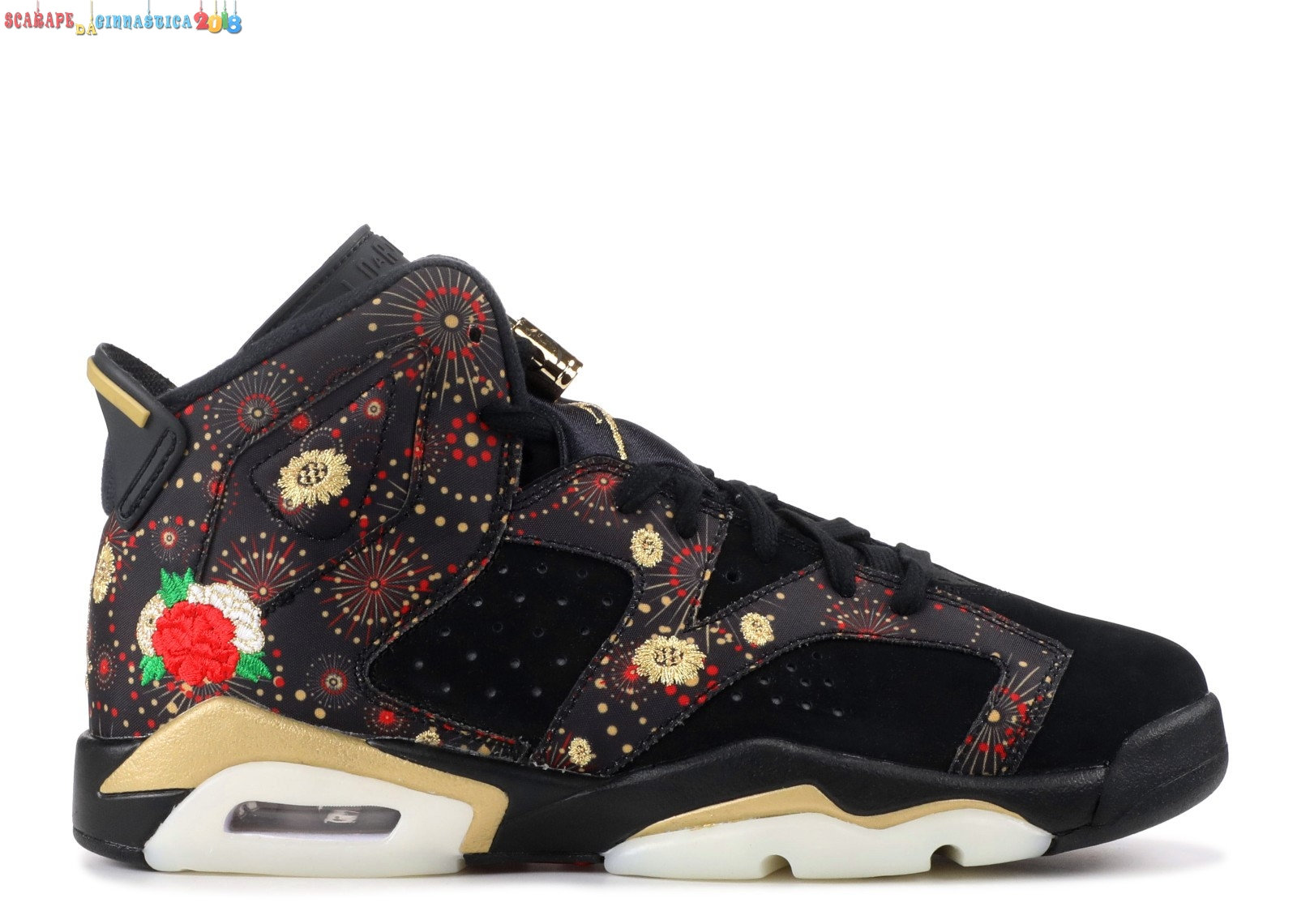 "Replica Air Jordan 6 Retro Cny Bg ""Chinese New Year"" Nero (aa2495-021) - SCARPE BASKET"