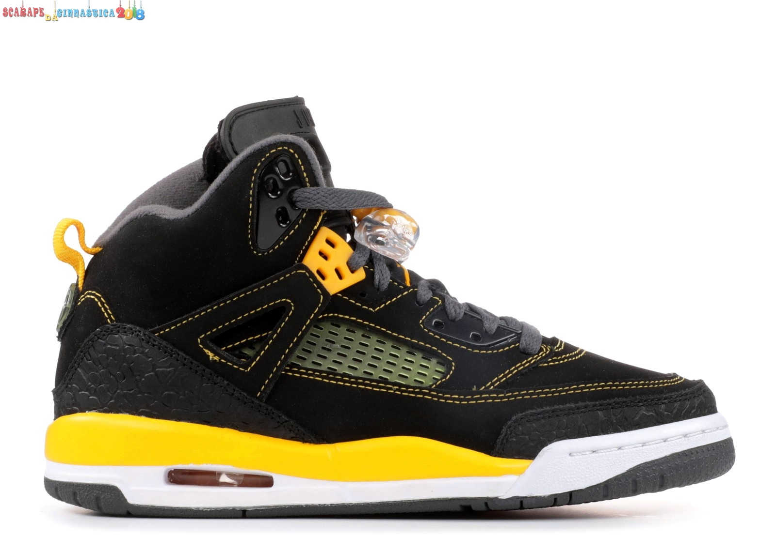 Replica Air Jordan Spiz'Ike (Gs) Nero Giallo (317321-030) Online