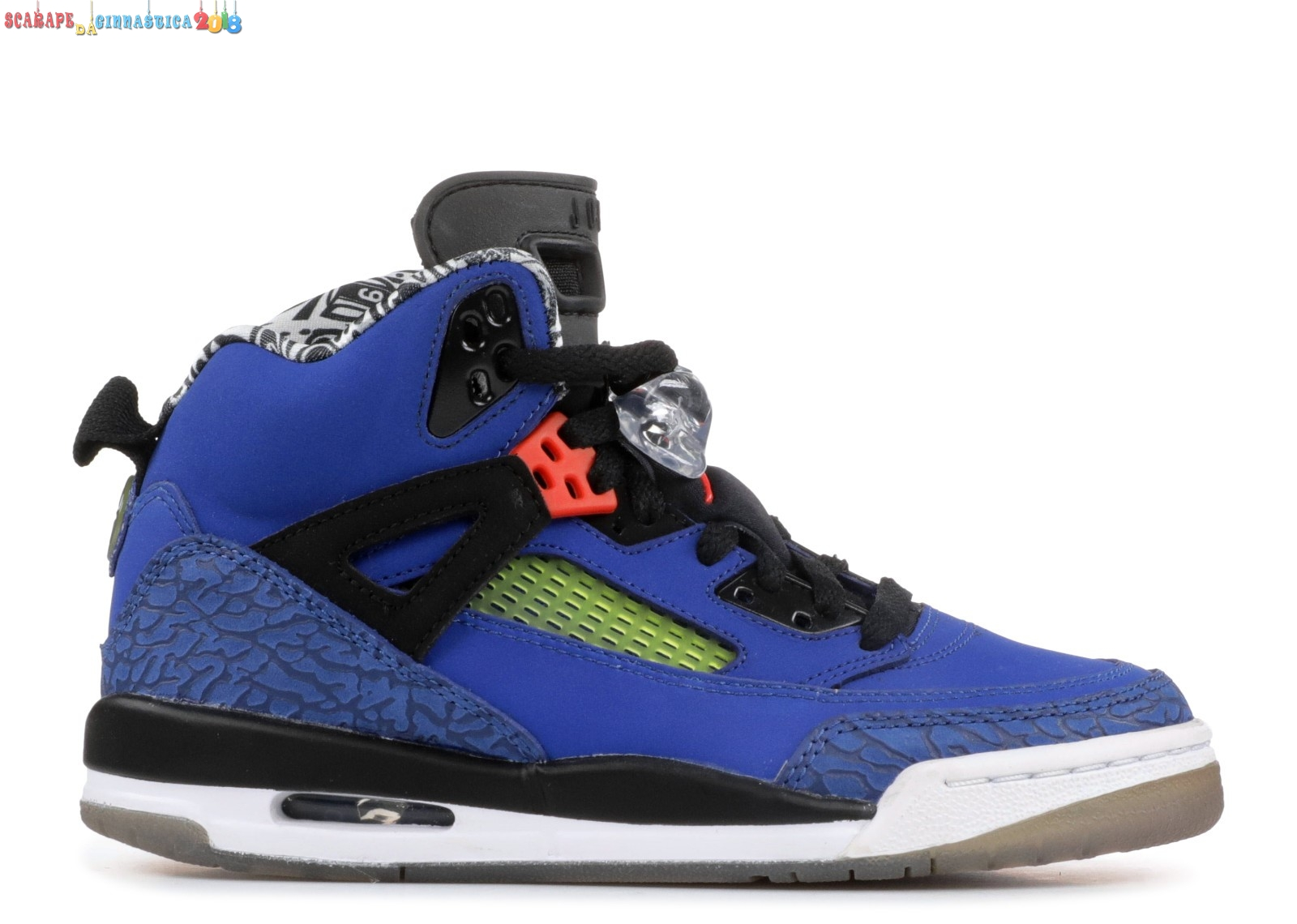 "Replica Air Jordan Spiz'Ike (Gs) ""New York Knicks"" Blu (317321-405) Online"
