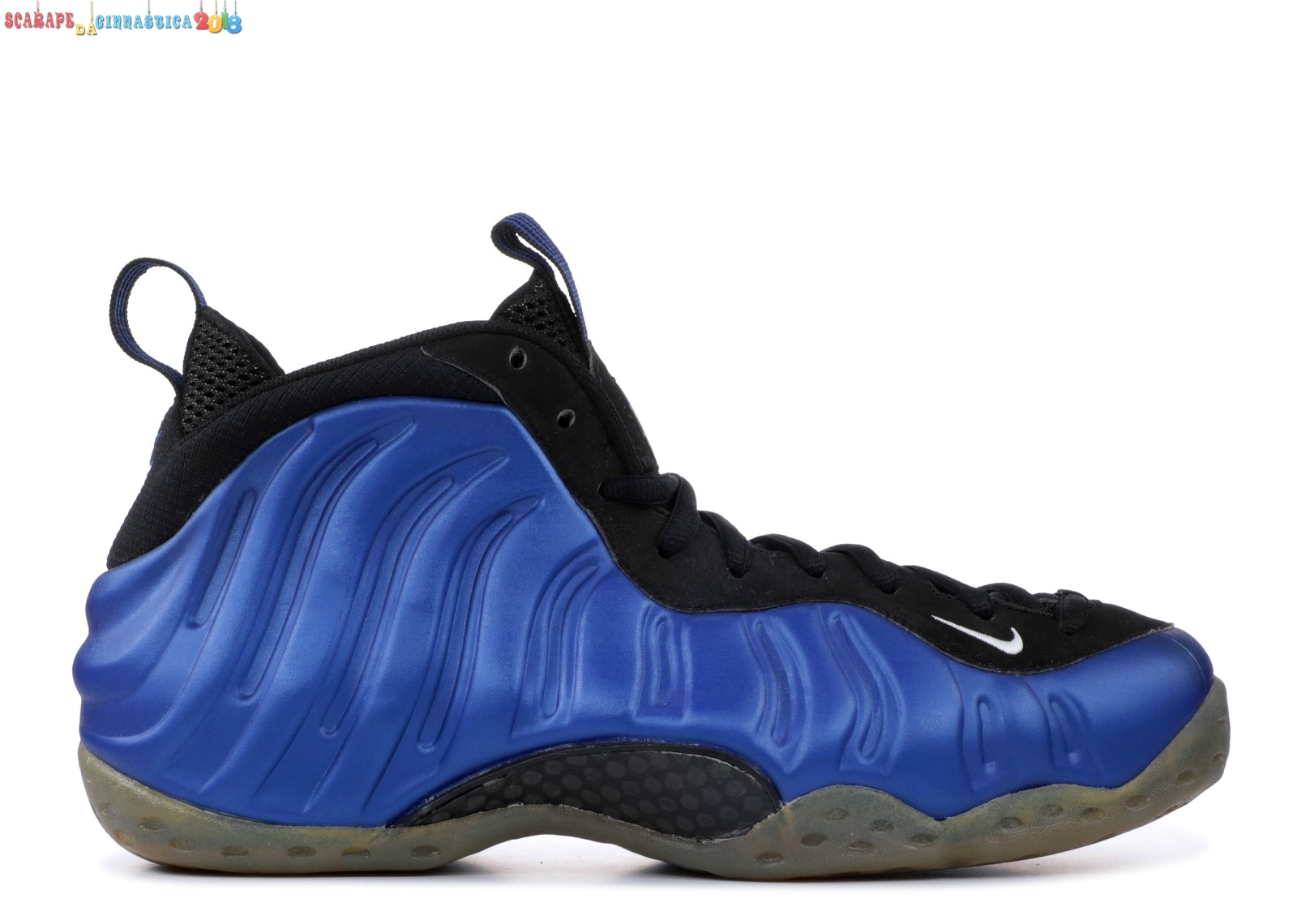 Replica Nike Air Foamposite One Blu Nero Bianca (830017-511) - Uomo Online