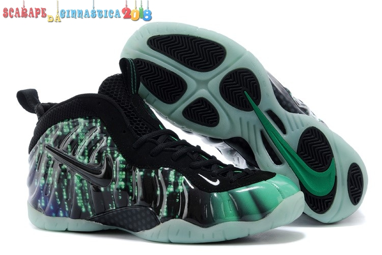 "Replica Nike Air Foamposite Pro ""Matrix"" Verde - Donna - SCARPE BASKET"