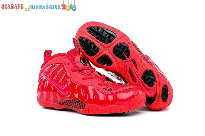 Replica Nike Air Foamposite Pro Rosso - Donna Online