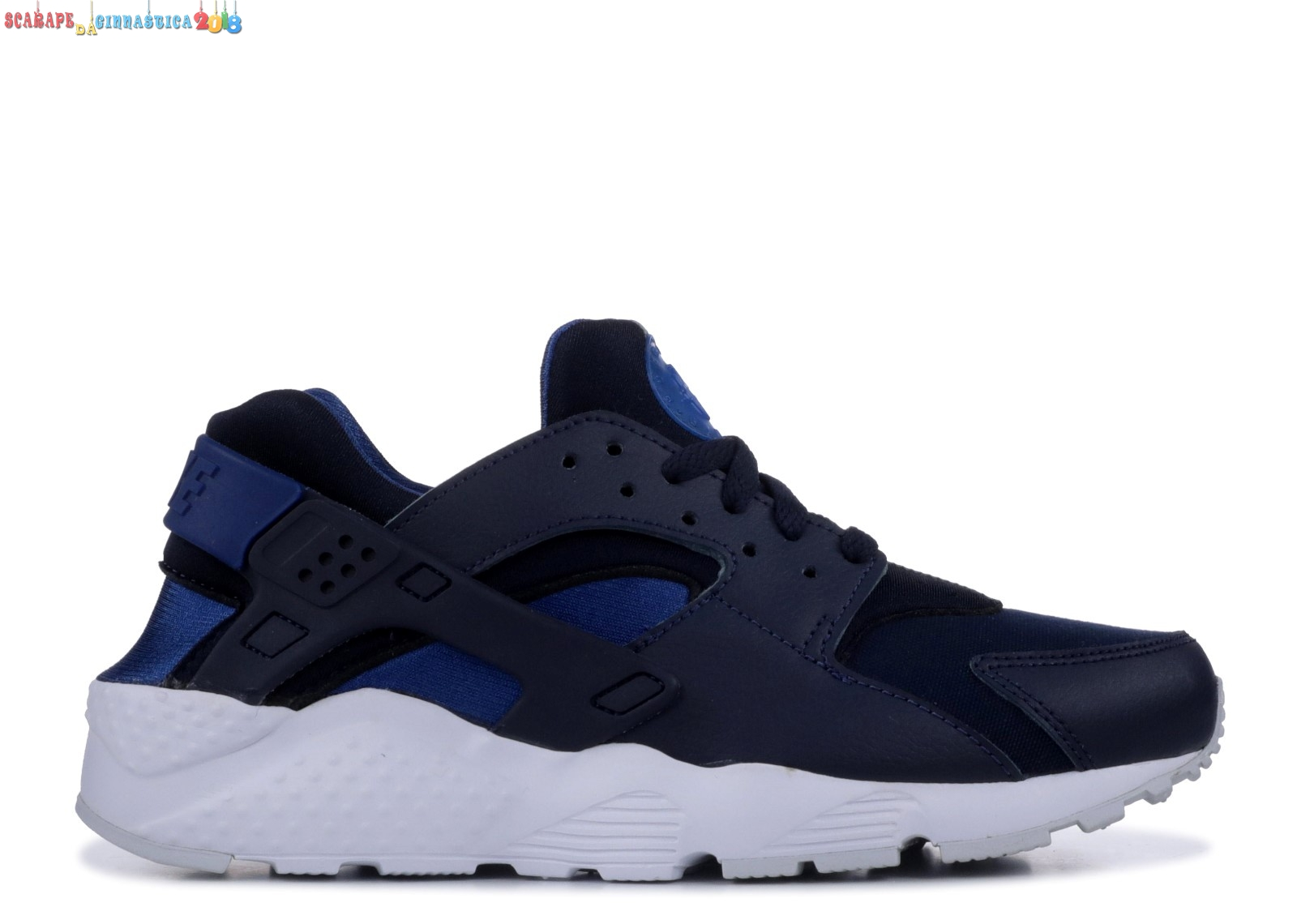Replica Nike Air Huarache Run (Gs) Navy (654275-414) a Poco Prezzo