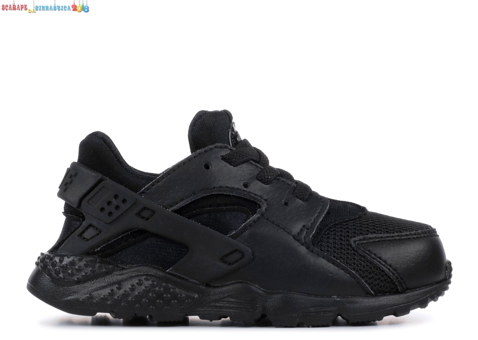 "Replica Nike Air Huarache Run (Ps) ""Triple Nero"" Nero (704950-016) - SCARPE BASKET"