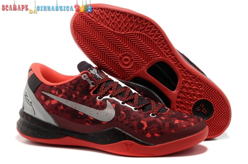"Replica Nike Kobe Viii 8 ""Year Of The Snake"" Rosso - Uomo - SCARPE BASKET"