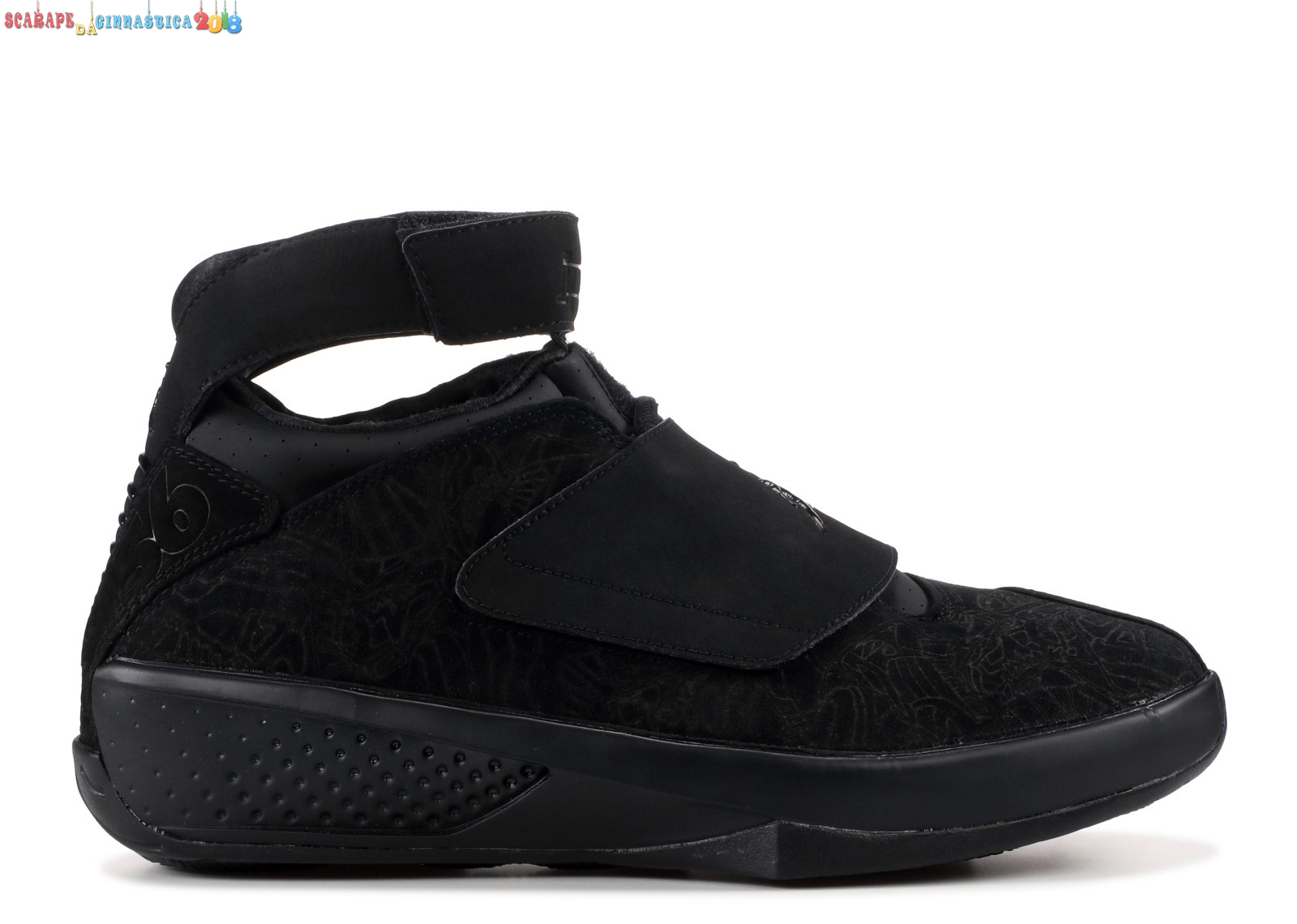 "Scarpa da basket - Air Jordan 20 Retro ""Countdown Pack"" Nero (340252-001) - Uomo - SCARPE BASKET"