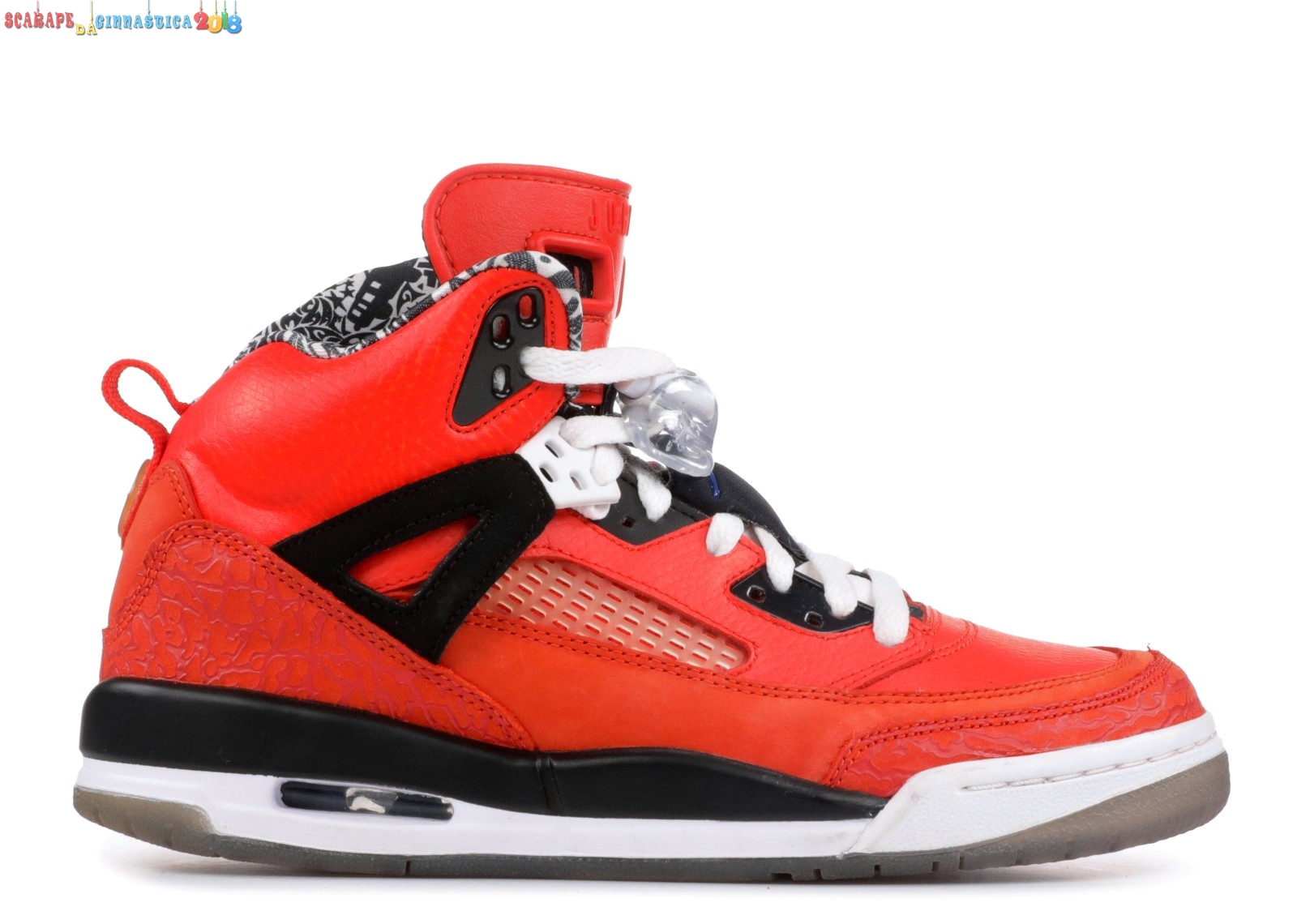 "Scarpa da basket - Air Jordan Spiz'Ike (Gs) ""New York Knicks"" Rosso Nero (317321-805) Online"