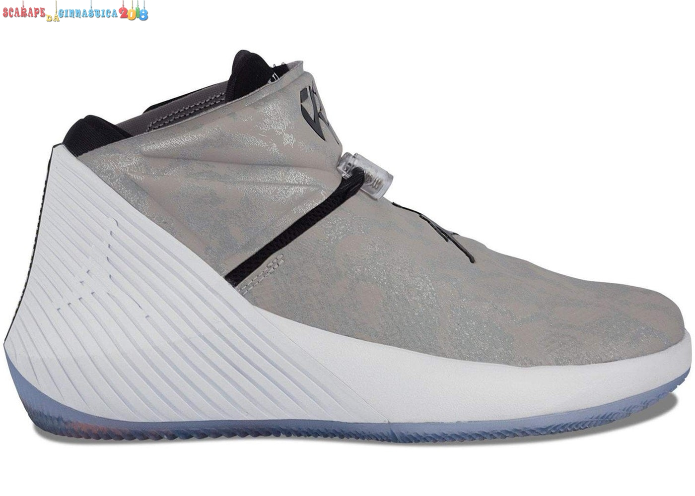"Scarpa da basket - Jordan Why Not Zer0.1 ""Fashion King"" Gris (aa2510-034) - Uomo - Scarpe da basket"